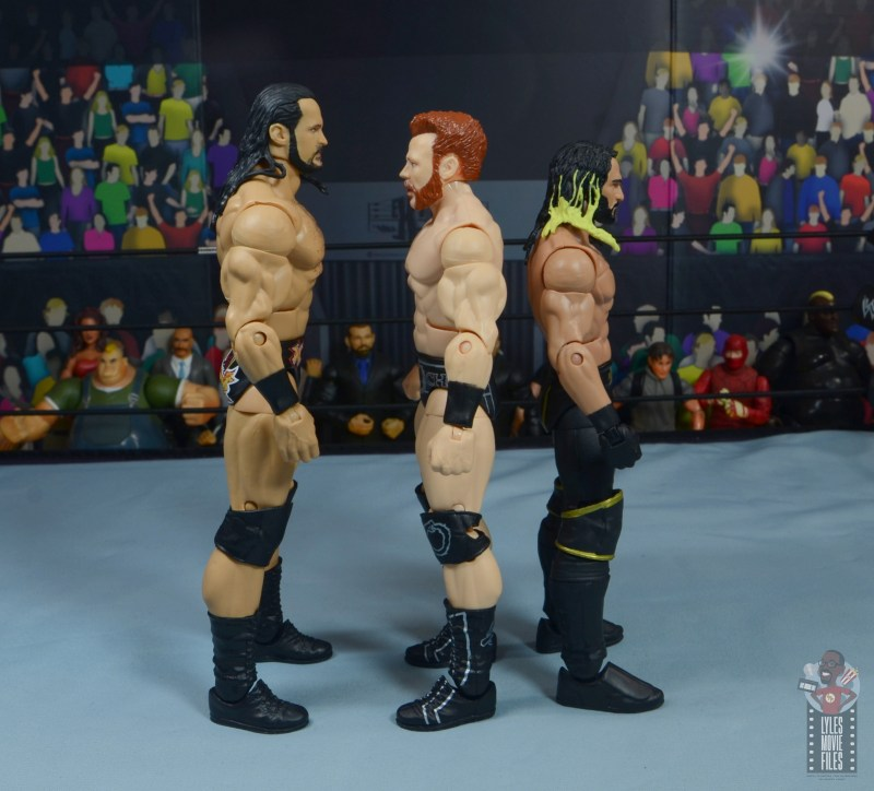 wwe elite 84 sheamus review - facing drew mcintyre and seth rollins