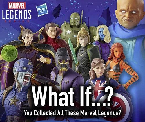 disney what if marvel legends figures