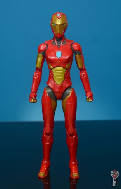 marvel legends ironheart review - front