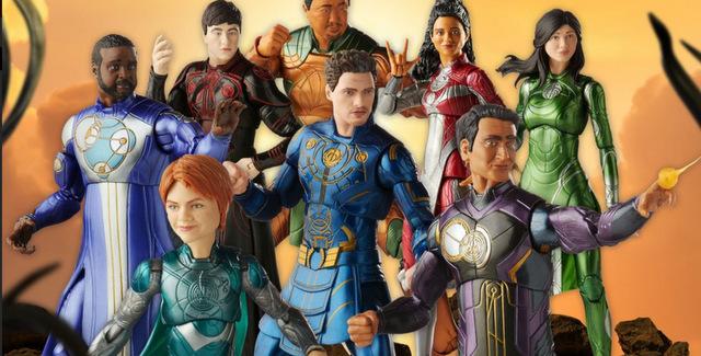 eternals wave of marvel legends