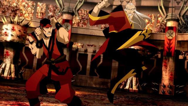 mortal kombat battle of the realms review - Liu Kang vs Shang Tsung