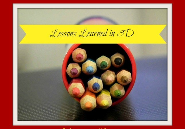 Lessons Learned in 3-D: The Marriage Journey