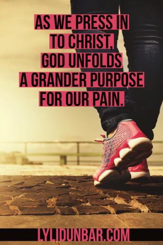 Find Purpose in the Painful Process | lylidunbar.com