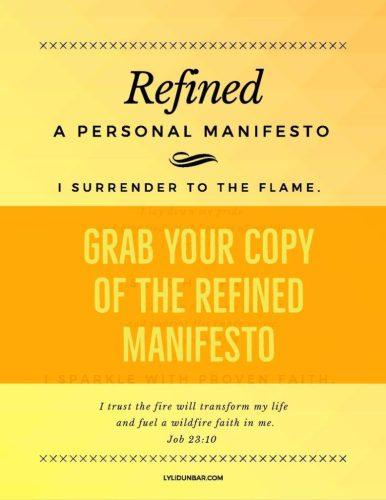 Refined Manifesto Printable