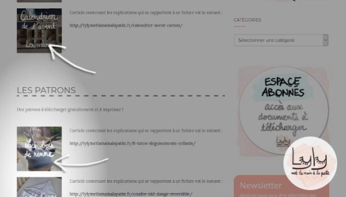 tutoriel - pas à pas : comment télécharger les fichiers gratuits - how to upload free printables
