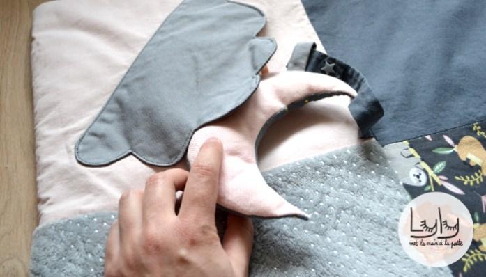 DIY : coudre un tapis d'éveil moelleux pour bébé, un tuto couture en attendant bébé