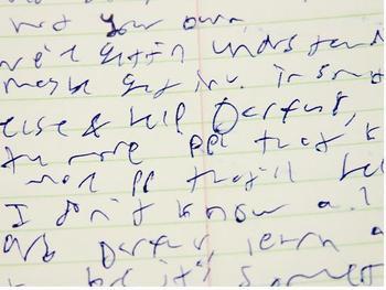 Lyme Disease and Bad Handwriting  LymeLight