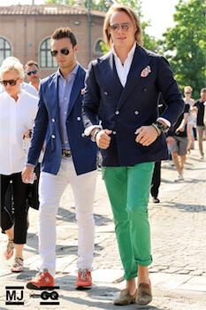 イタリアンファッションのメンズコーデ2