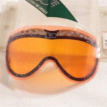 スノーボードのゴーグルの色の種類と選び方①:オレンジ系