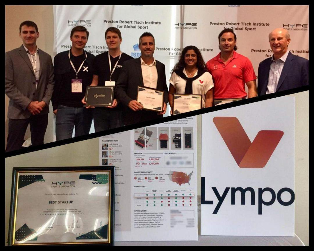Lympo wins best startup award