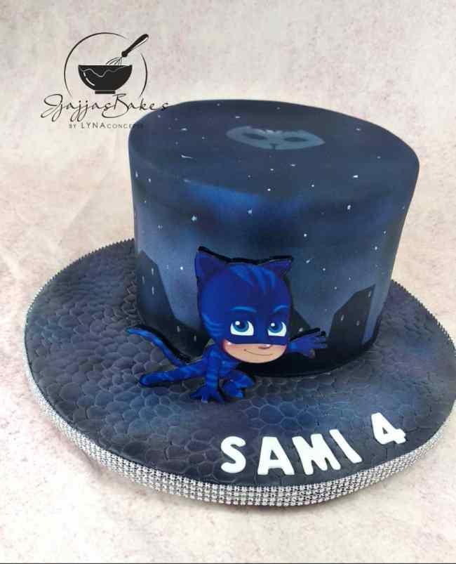 Birthday Cake: 2D Catboy PJ Masks