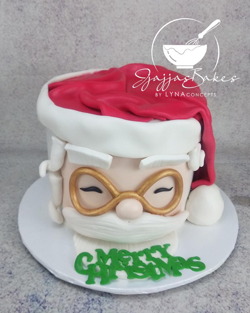 JjajjasBakes by LYNAconcepts - Christmas Santa Hat