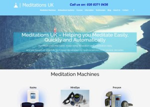 Meditations-uk.com Website Image