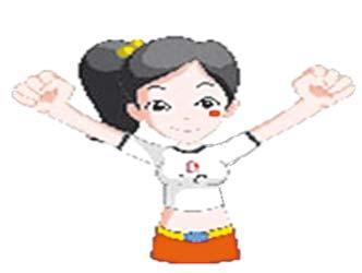 Frappez dans les mains 2 fois, ciez « Aoyun ! » (JO !)
