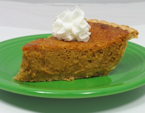 Whiskey Pumpkin Pie