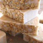 Peppermint Oatmeal Honey Soap