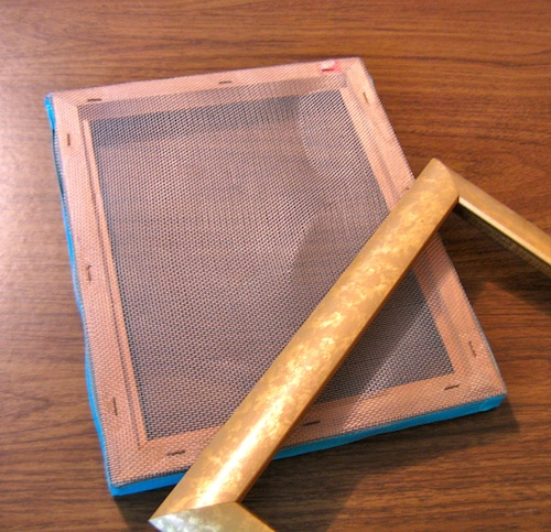 paper making mold and deckle