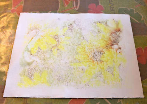Image transfer on canvas