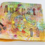 August 2011 art journal cover