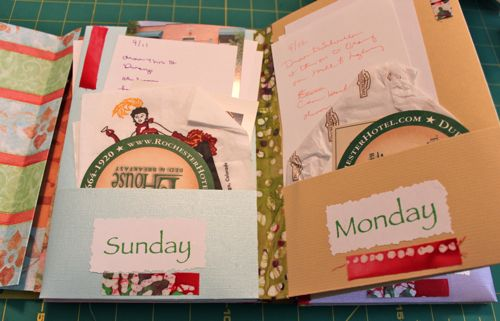 Pages of Pocket Journal