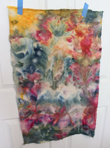 Ice Dyed Drill Fabric