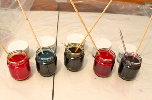 Dye concentrates