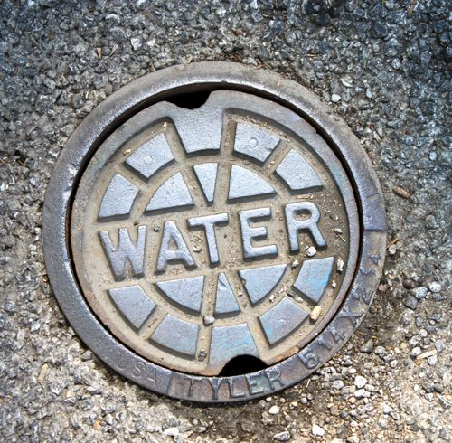 water main cover