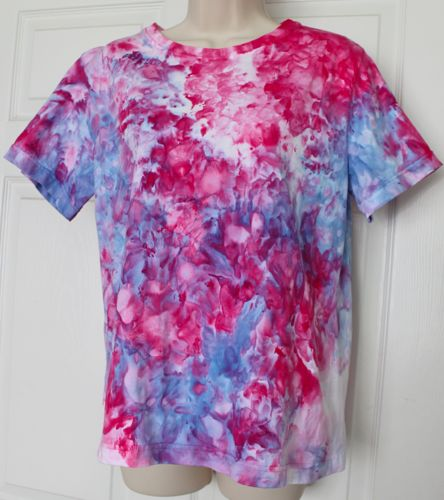Another ice dyed shirt