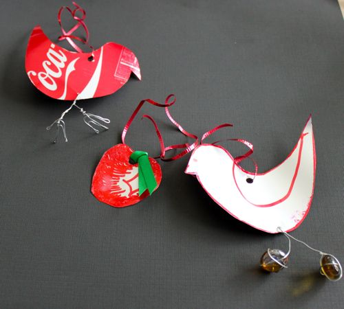 Ronda's bird ornaments for our cherry tree