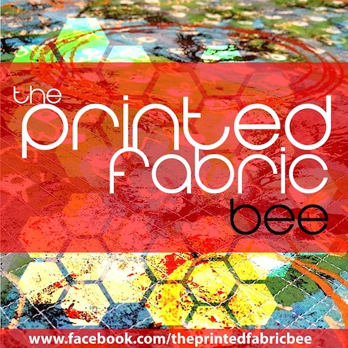 Printed Fabric Bee
