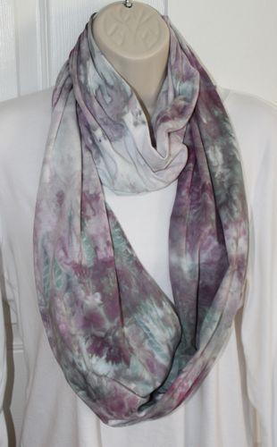 brushed steel scarf