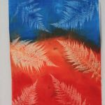 sun printing with screen printing ink