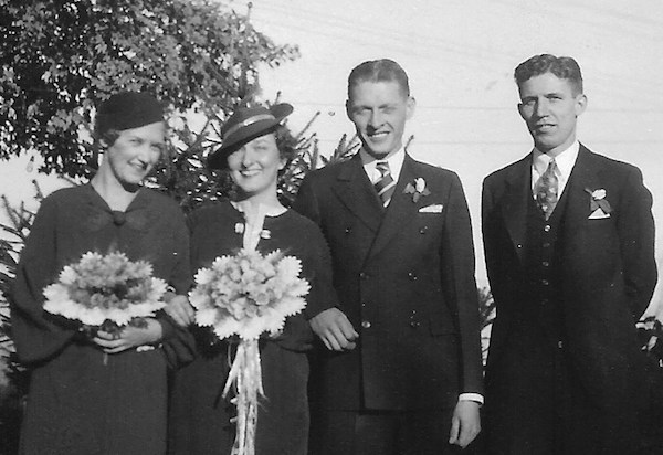 Mildred and Francis Heines wedding copy