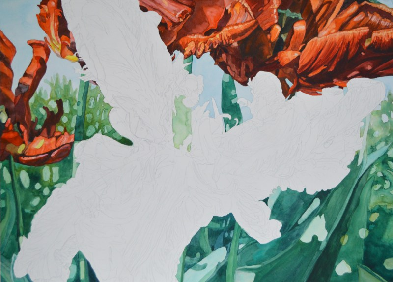 Tulip step 5 - Lynda Hoffman-Snodgrass