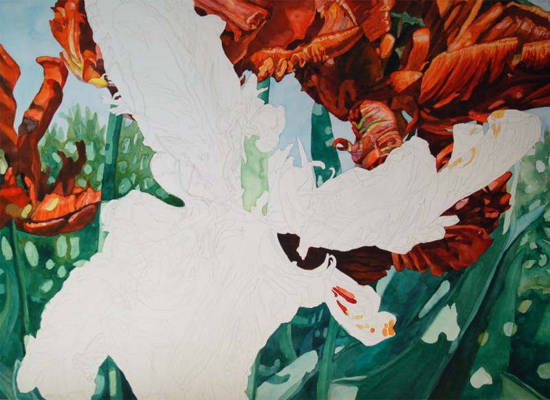 Tulip step 8 - Lynda Hoffman-Snodgrass