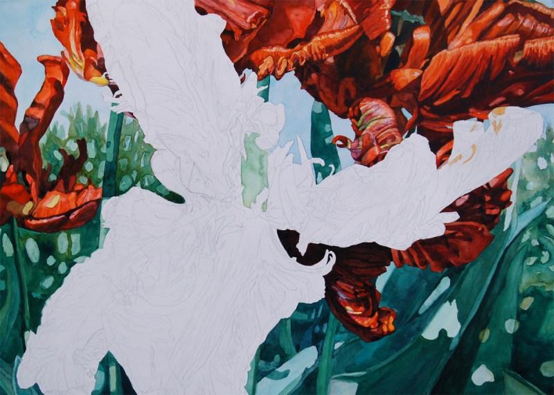 Tulip step 9 - Lynda Hoffman-Snodgrass