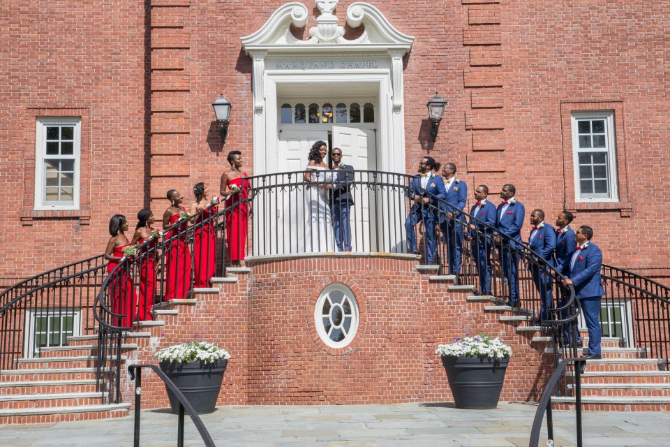The Marquand Chapel at Yale University Wedding