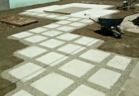 "How to install 24"" concrete pavers 