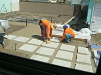 "How to install 24"" concrete pavers | Lynda Makara"