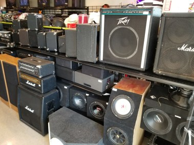 Lynda's Pawn Shop - Amplifiers and Speakers
