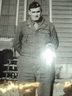 Corporal Ellis Brann of the US Army