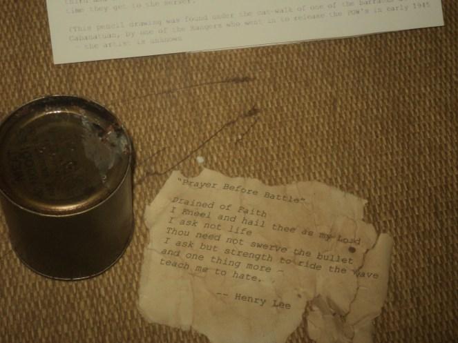 Henry Lee's Scrap of a Battle Prayer