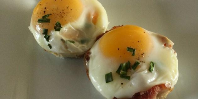 Bacon 'n Egg Breakfast Muffins