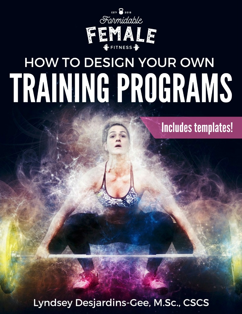 How To Design Your Own Training Programs