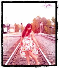 looking down railroad pose WM