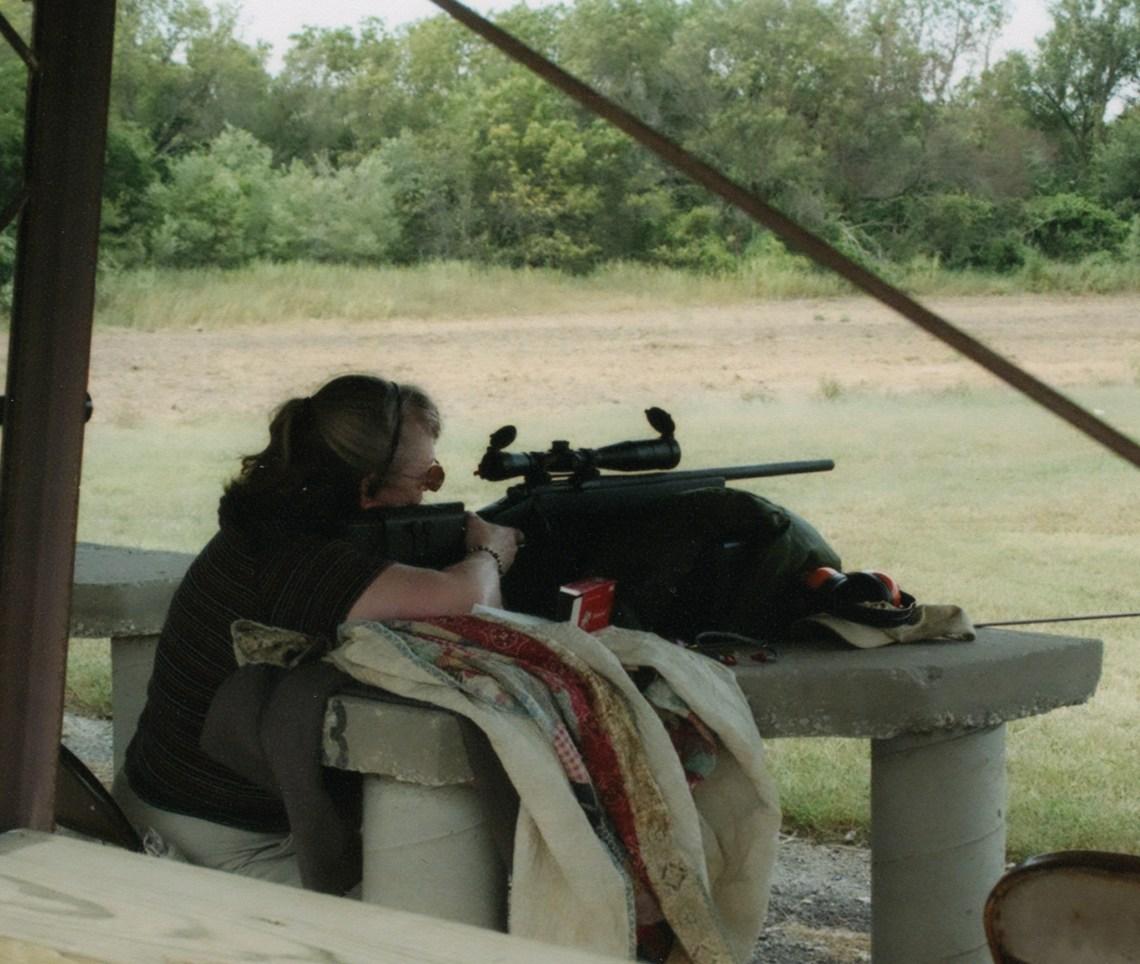 talking guns, sights on the target, lynettemburrows.com