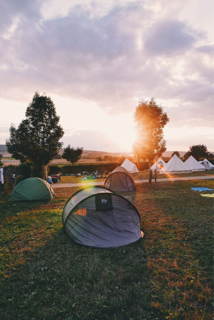 Summer Vacation: terror in a tent, or the memories of being a teenaged girl who wasn't meant to go camping