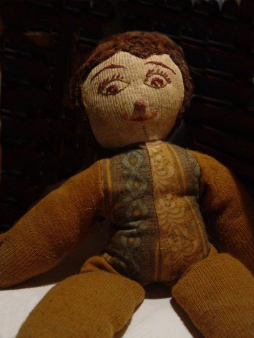 Rag doll belonging to Azrael