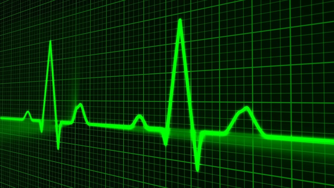 Image of an electronic EKG tracing, How to save your life? Empower yourself to take care of you first.