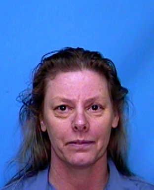 Mug shot of Aileen Wuornos, serial killer--from Female Serial Killers Aren't a Type: Real-life Villains series @ lynettemburrows.com